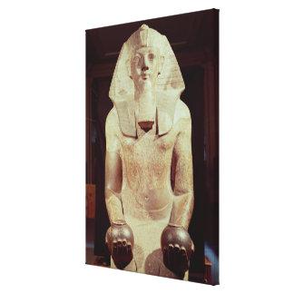 Statue of Queen Makare Hatshepsut Canvas Print