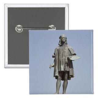 Statue of Raphael Sanzio of Urbino, 1897 15 Cm Square Badge