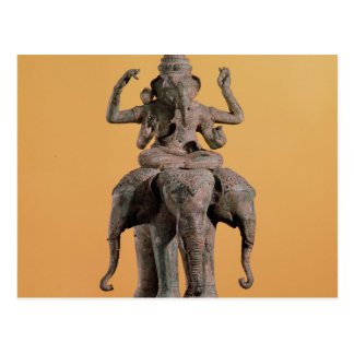 Statue of the Hindu God Ganesh Postcard
