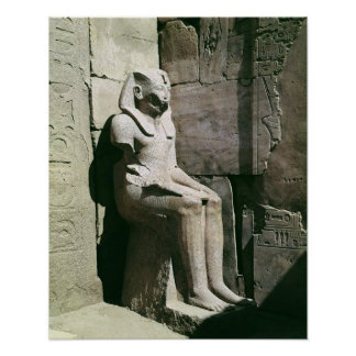 Statue of Tuthmosis III  New Kingdom Poster