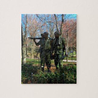 Statues at Washington DC Jigsaw Puzzle