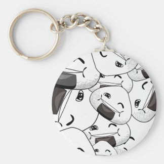 Stay close to me - Happy Key Chains
