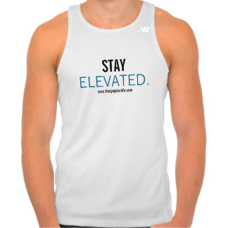 Stay Elevated Men's New Balance Tempo Running Tank