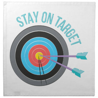 Stay On Target Napkin