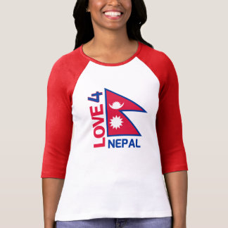 Stay Strong Nepal Flag Shirt