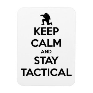 Stay Tactical Rectangular Photo Magnet