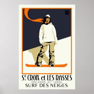 Ste. Croix et Les Rasses Poster