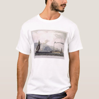 Steam boat on the Clyde near Dumbarton, from 'A Vo T-Shirt