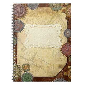 Steam Elegance Steampunk SUBJECT JOURNAL Notebooks