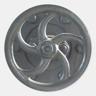 Steam Engine Pressure Adjustment Wheel Stickers