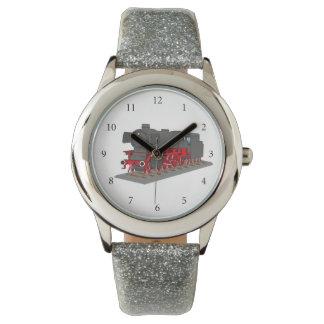 Steam engine watch