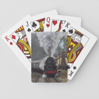 Steam Locomotive Playing Cards