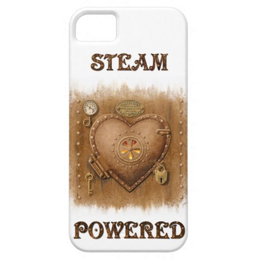 Steam Powered Heart iPhone4 Case iPhone 5 Cover