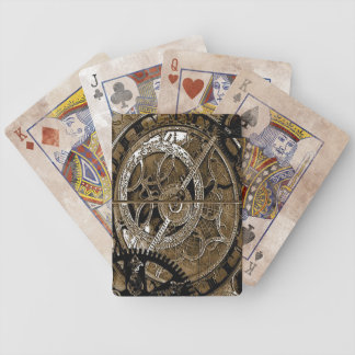 steam punk playing cards