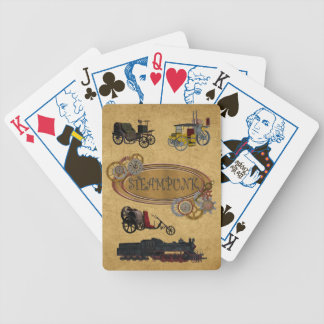 Steam Punk Theme Poker Game Cards