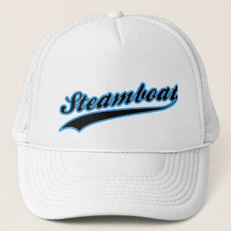 Steamboat Baseball Logo Trucker Hat