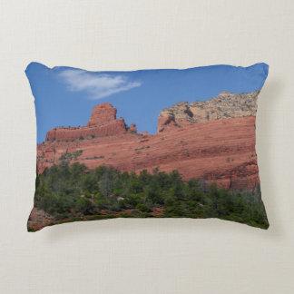 Steamboat Rock in Sedona Arizona Photography Accent Cushion