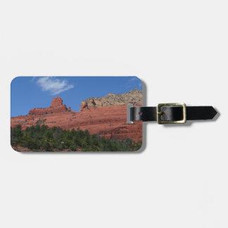 Steamboat Rock in Sedona Arizona Photography Travel Bag Tag