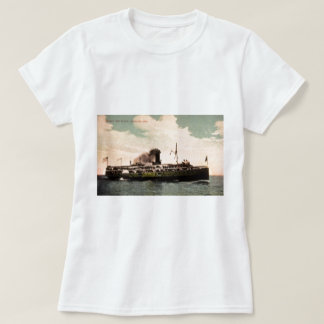 """Steamer """"City of Erie"""" at Cleveland, Ohio T-Shirt"""