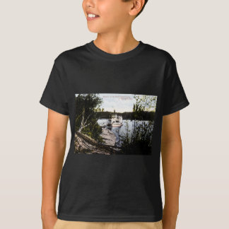 Steamer on River Saskatchewan, Edmonton, Alta. T-Shirt