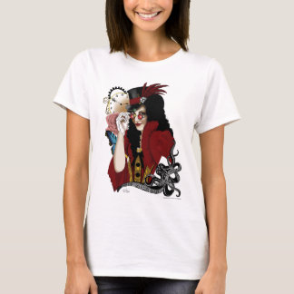 Steampunk all in Red T-Shirt