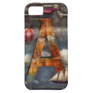 Steampunk - Alphabet - A is for Adventure iPhone 5 Cases