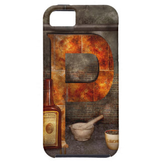 Steampunk - Alphabet - P is for Pharmacy iPhone 5 Case
