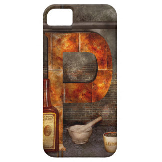 Steampunk - Alphabet - P is for Pharmacy iPhone 5 Cover