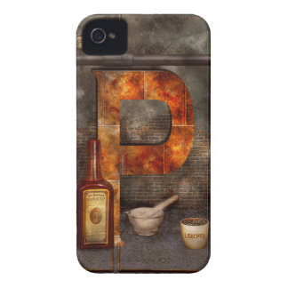 Steampunk - Alphabet - P is for Pharmacy iPhone 4 Cases