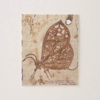 Steampunk Butterfly Jigsaw Puzzle