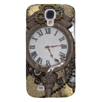 Steampunk  can you sea the funny gecko galaxy s4 case