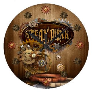 Steampunk Wallclock