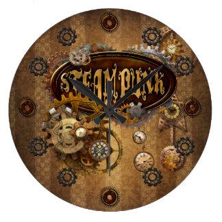 Steampunk Round Clocks