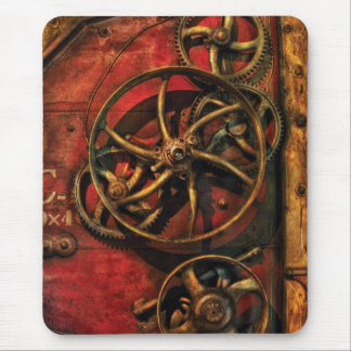 Steampunk - Clockwork Mouse Pad