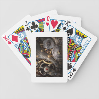 Steampunk Clockwork Playing Cards