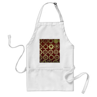 Steampunk Cogs and Gears Art Apron