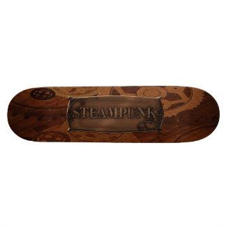 Steampunk Cogs & Gears Skateboard