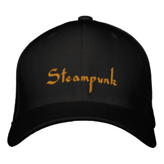 Steampunk  Embroidered Cap Embroidered Baseball Caps