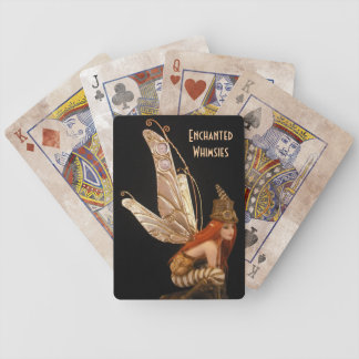 Steampunk Fairy Playing Cards