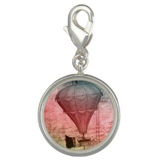 Steampunk Fantasy Balloon Traveller Bracelet Charm