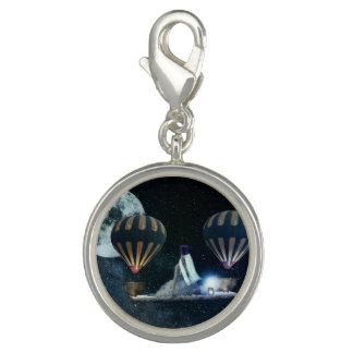 Steampunk Fantasy Traveller Charm Jewelry