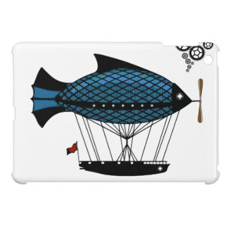 STeampunk fantasy Zeppelin Balloon ipad Mini case! Case For The iPad Mini