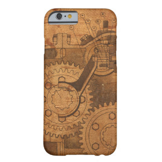 Steampunk Gear Barely There iPhone 6 Case