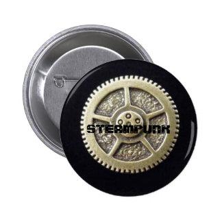 Steampunk Gear Button