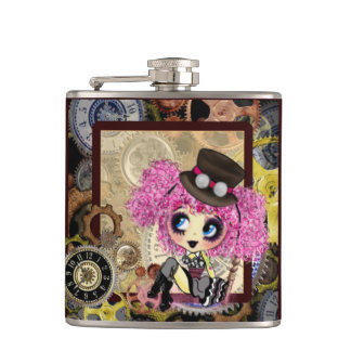 Steampunk Gothic Lolita - girly gifts Hip Flask
