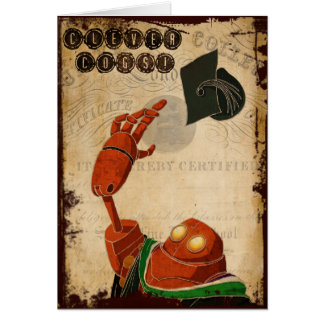 Steampunk Graduation Card