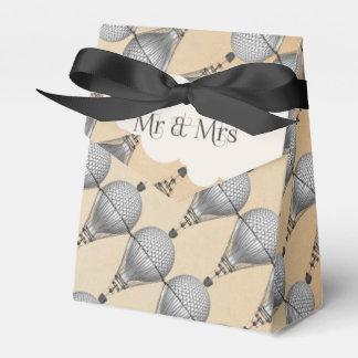 Steampunk Hot Air Balloon Wedding Wedding Favour Box