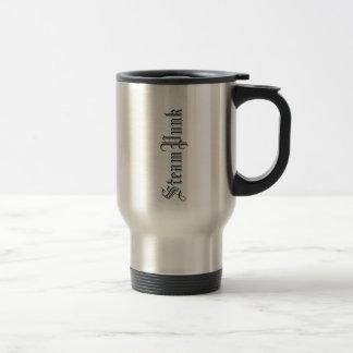 SteamPunk Love Stainless Steel Travel Mug