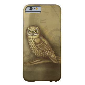 Steampunk Owl iPhone 6 case Barely There iPhone 6 Case