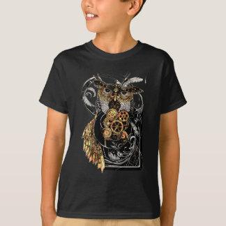 Steampunk Owl T Shirt